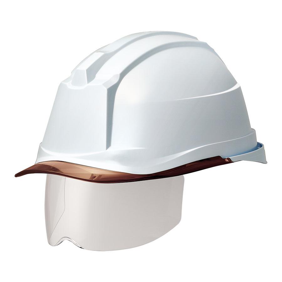ヘルメット SC−19PCLS RA3 α ホワイト/ブラウン