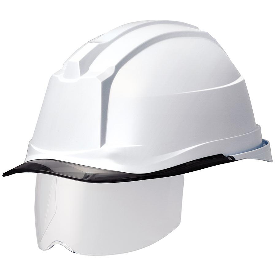 遮熱ヘルメット SC−19PCLHS RA3 α ホワイト/スモーク 受注生産