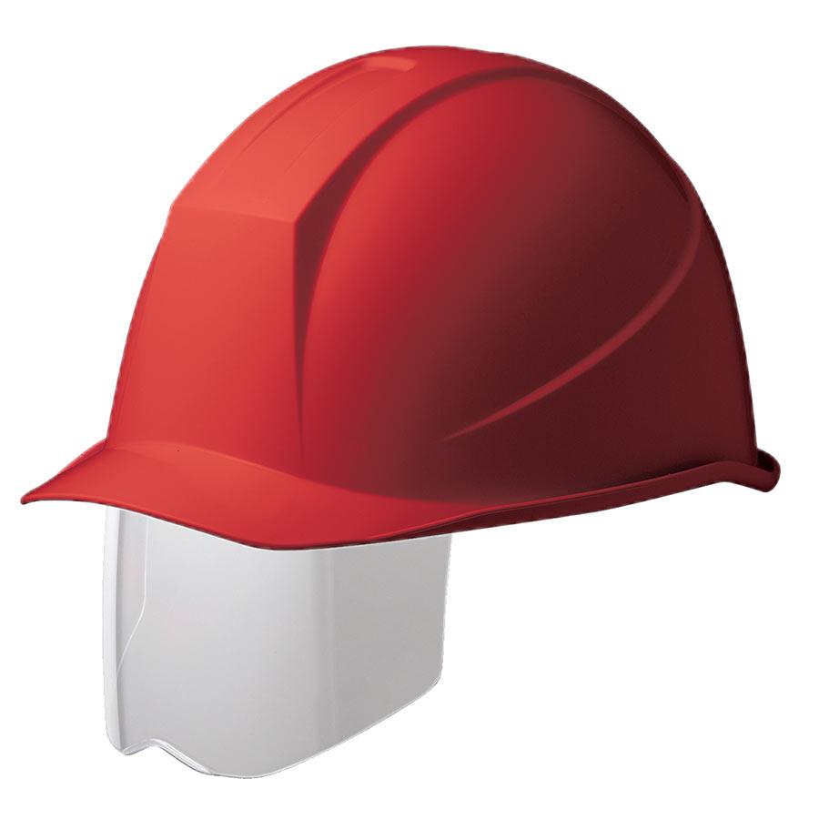 ヘルメット SC−11BS RA KP付 レッド