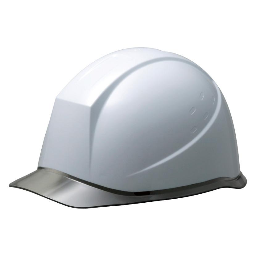ヘルメット SC−12PCL RA KP付 ホワイト/スモーク