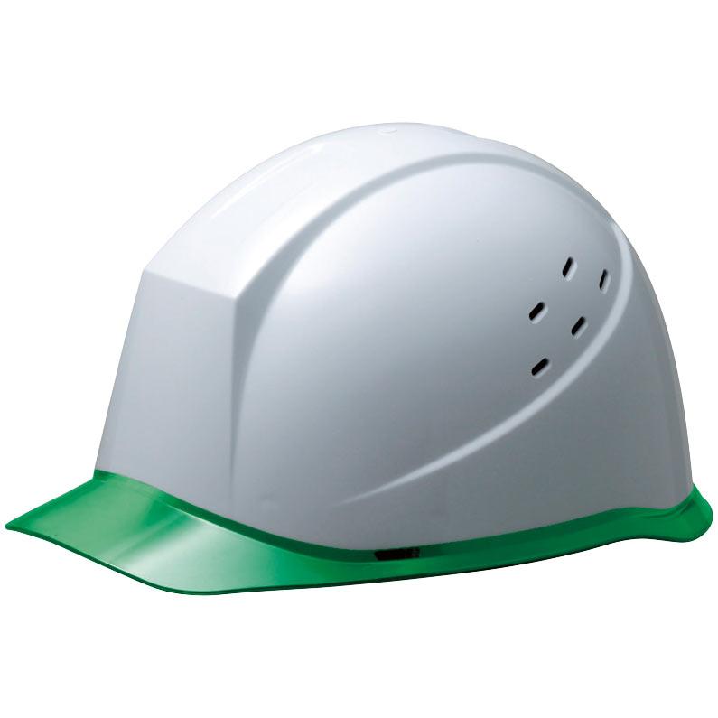 ヘルメット SC−12PCLV RA ホワイト/グリーン