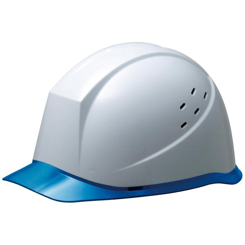 ヘルメット SC−12PCLV RA KP付 ホワイト/ブルー