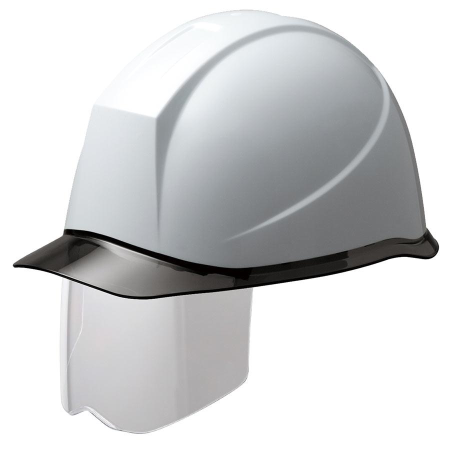 ヘルメット SC−12PCLS RA KP付 ホワイト/スモーク