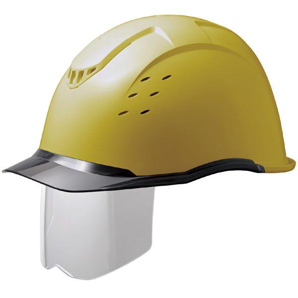 遮熱ヘルメット SCH−13PCLVS RA KP イエロー/スモーク