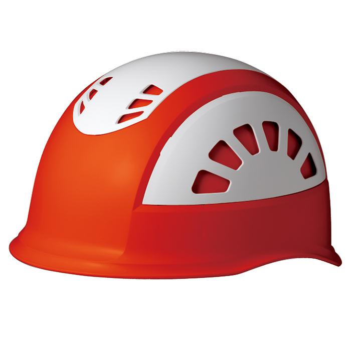 ヘルメット SC−17BV RA KP オレンジ/ホワイト