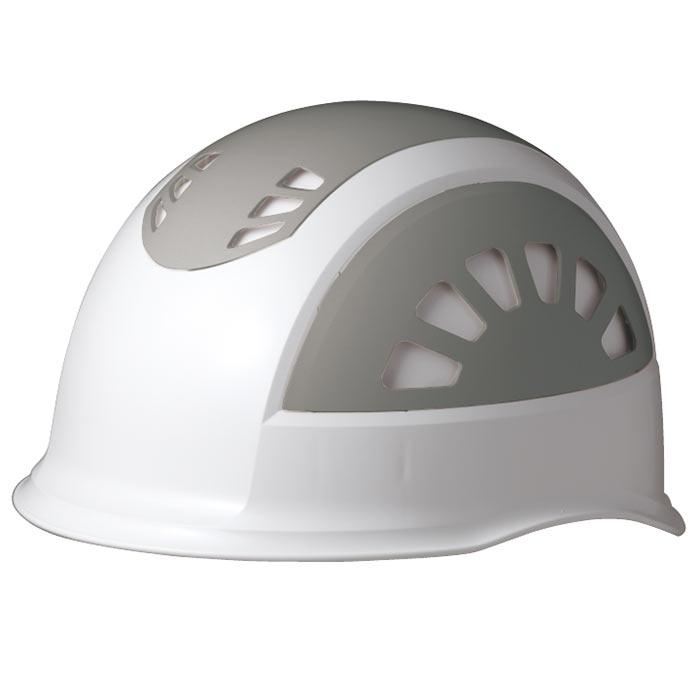 ヘルメット SC−17BV RA NS KP ホワイト/グレー 消臭汗止