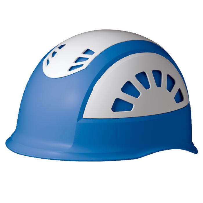 ヘルメット SC−17BV RA NS KP ブルー/ホワイト 消臭汗止