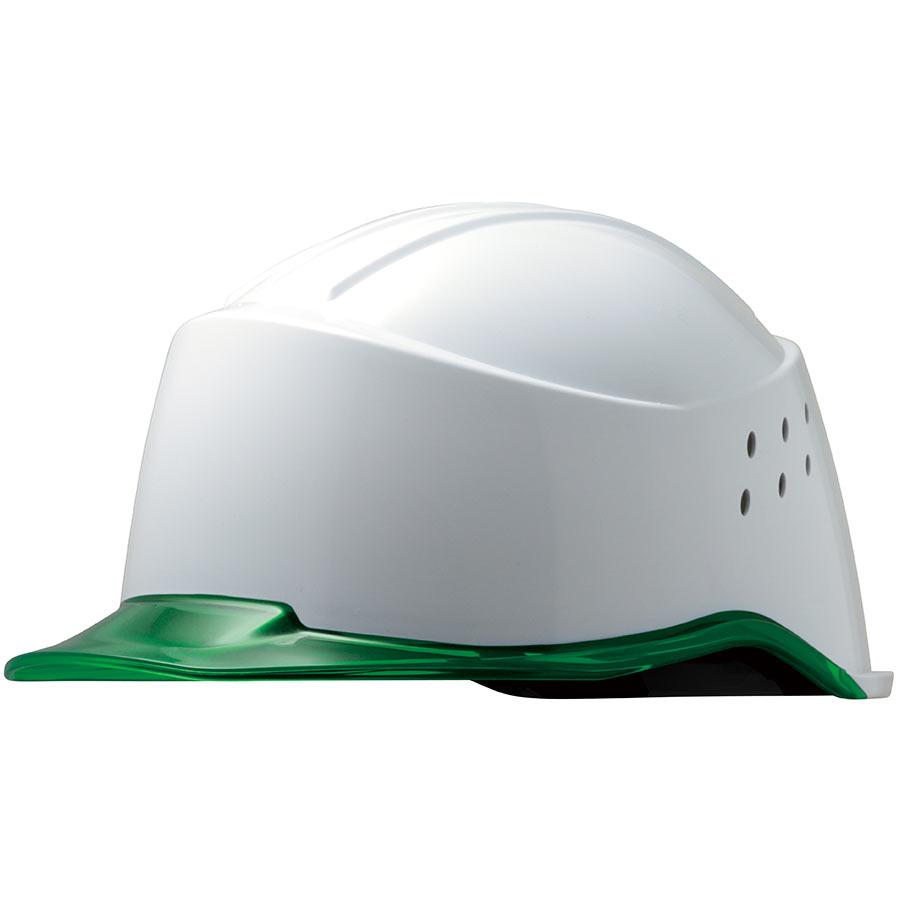 遮熱ヘルメット SC−15PCLNVH RA2 KP 侍 ホワイト/グリーン