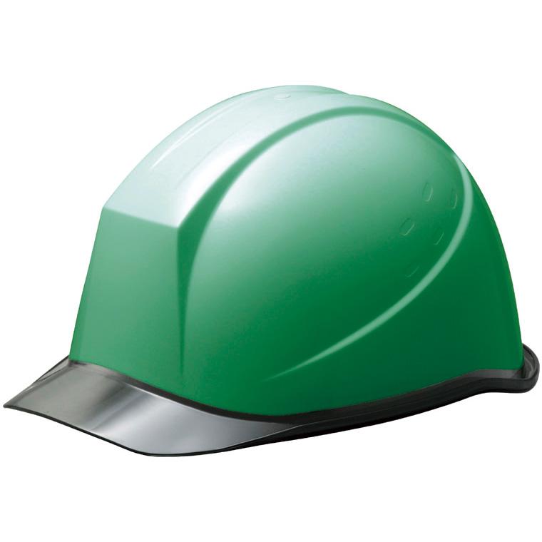 ヘルメット SC−11PCL RA NS α グリーン/スモーク 消臭汗止