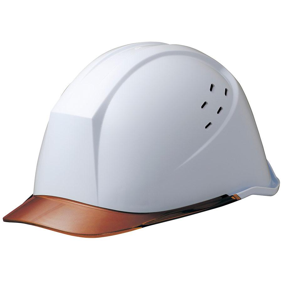 ヘルメット LSC−11PCLV ホワイト/ブラウン