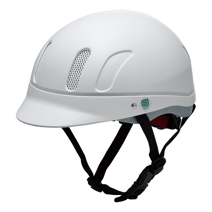 自転車乗車帽 TV型 Lサイズ ホワイト