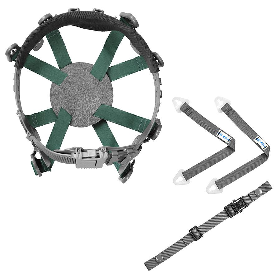 【交換用】 ヘルメット内装品 8T−RAF 内装一式 (1組/袋)