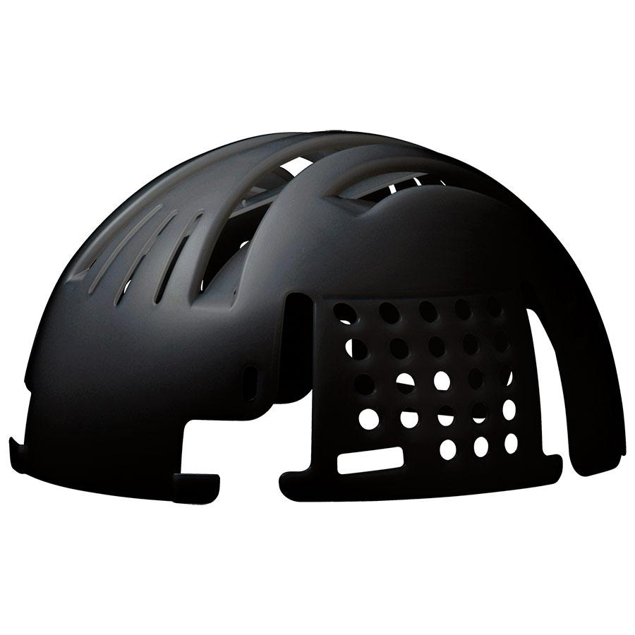 頭部保護用品 インナーキャップ INC−100 ブラック エコタイプ