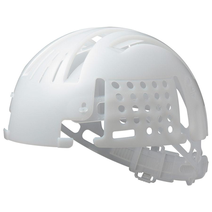 頭部保護用品 インナーキャップ INC−100B ホワイト バンド付 エコタイプ