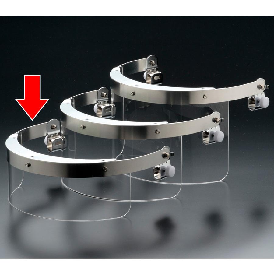 ヘルメット取付型防災面 MB−126H−1 M−1金具付 小