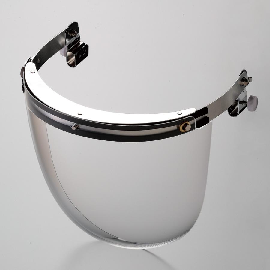 ヘルメット取付型防災面 MB−115H M−1金具付