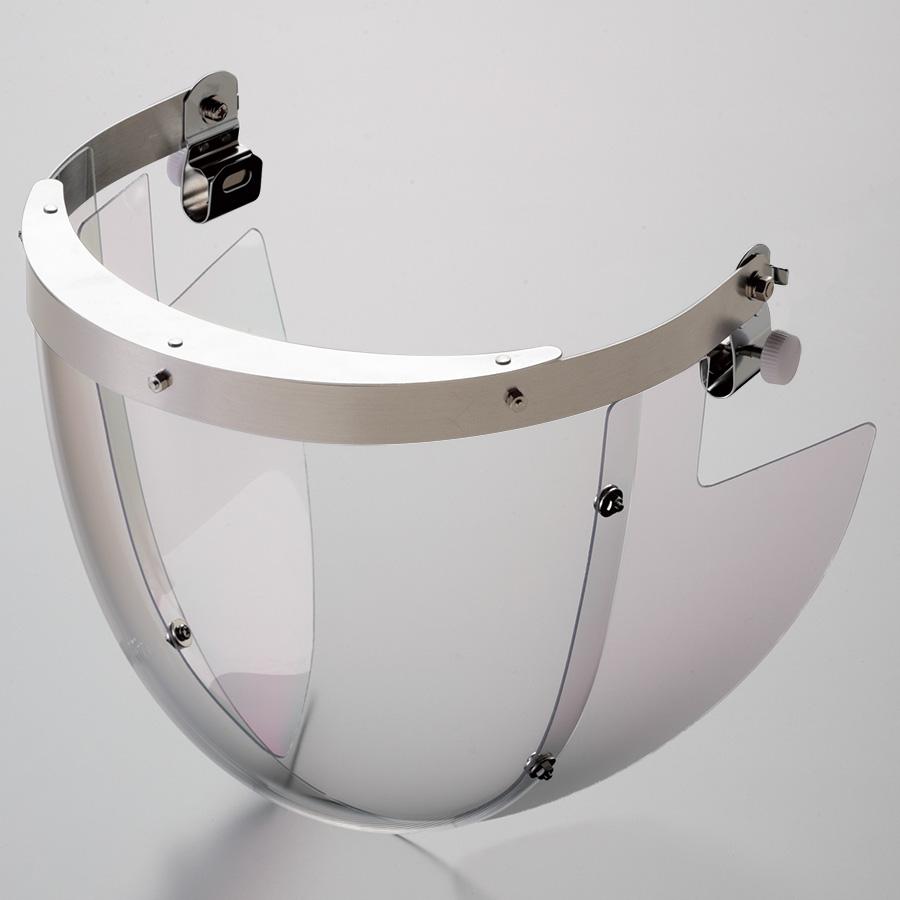 ヘルメット取付型防災面 MB−13H M−1金具付