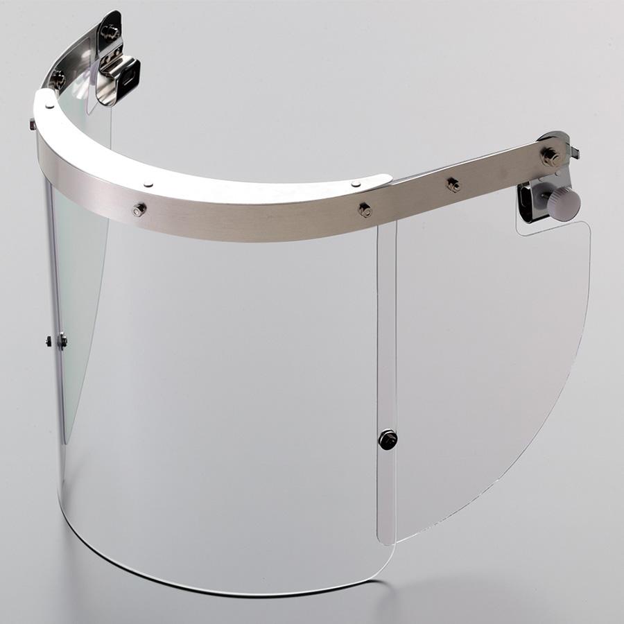 ヘルメット取付型防災面 MB−23H M−1金具付