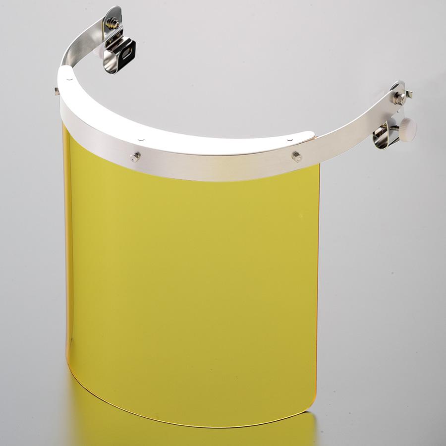 ヘルメット取付型防災面 MB−121HY 2° M−1金具付