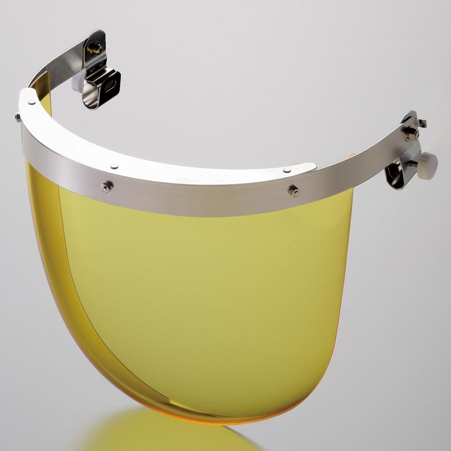 ヘルメット取付型防災面 MB−11HY 2° M−1金具付