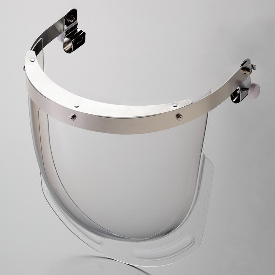 ヘルメット取付型防災面 MB−11H ストール M−1金具付(MP型用)