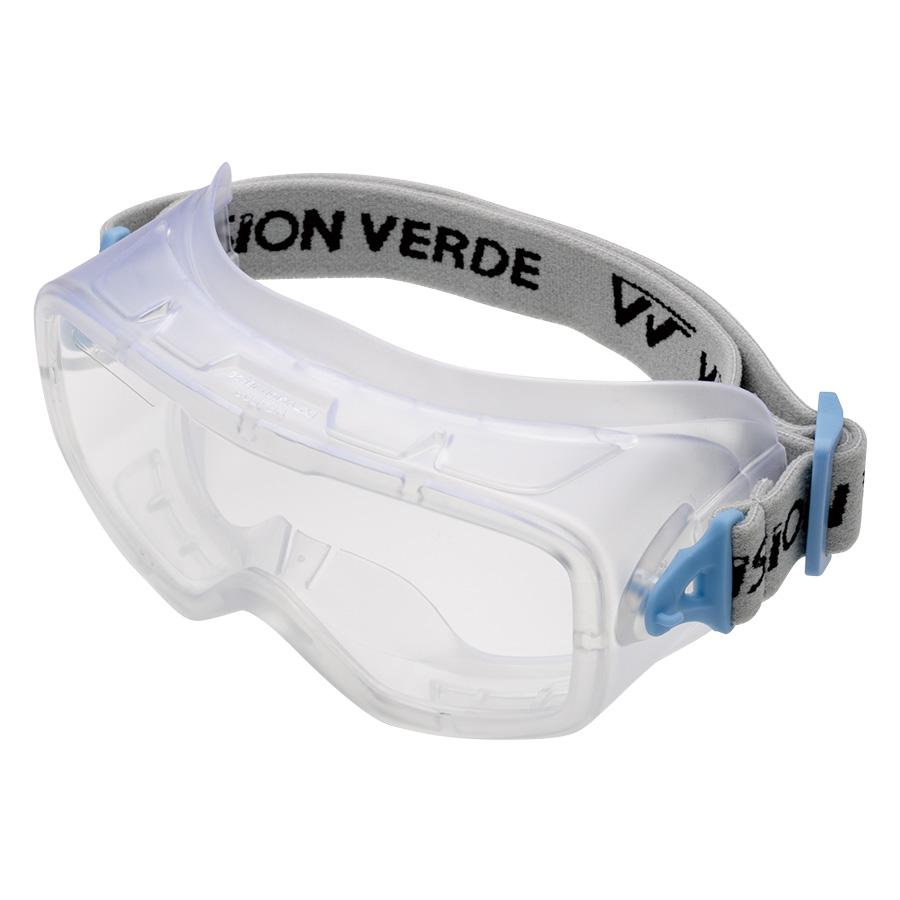 ビジョンベルデ 保護めがね VG−502F ゴーグル形 バンド式