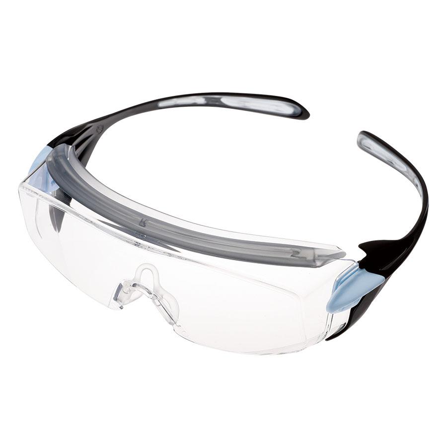 ビジョンベルデ 小顔用保護めがね オーバーグラス VS−303F ブルー