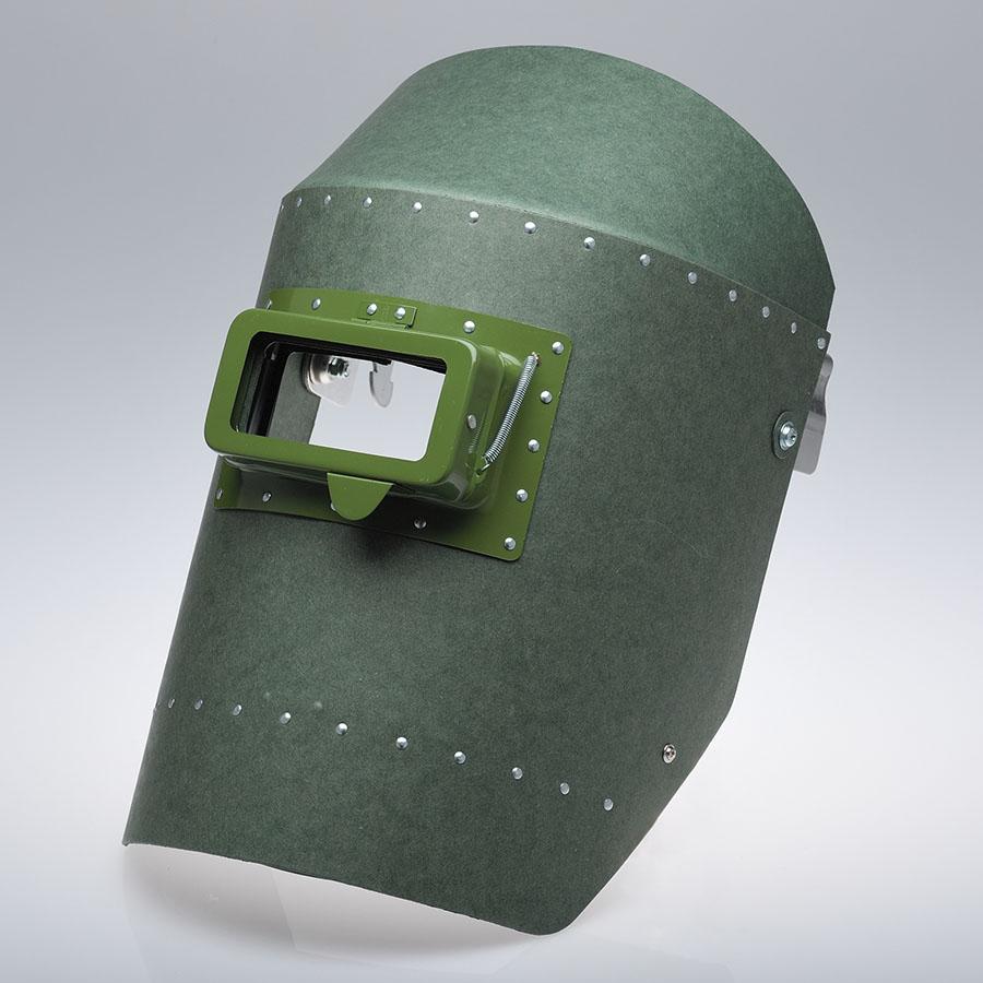 溶接面 NO.600MAG 開閉窓式 ヘルメット取付型