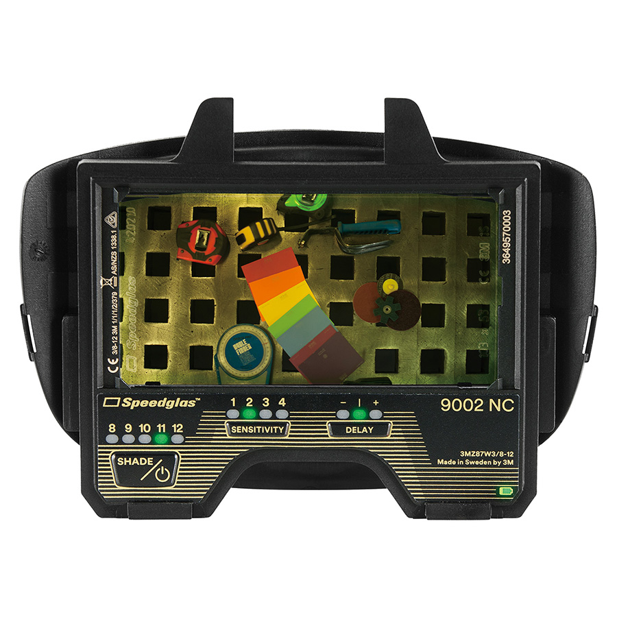 自動遮光溶接面 液晶フィルター スピードグラスTM 9002NC用