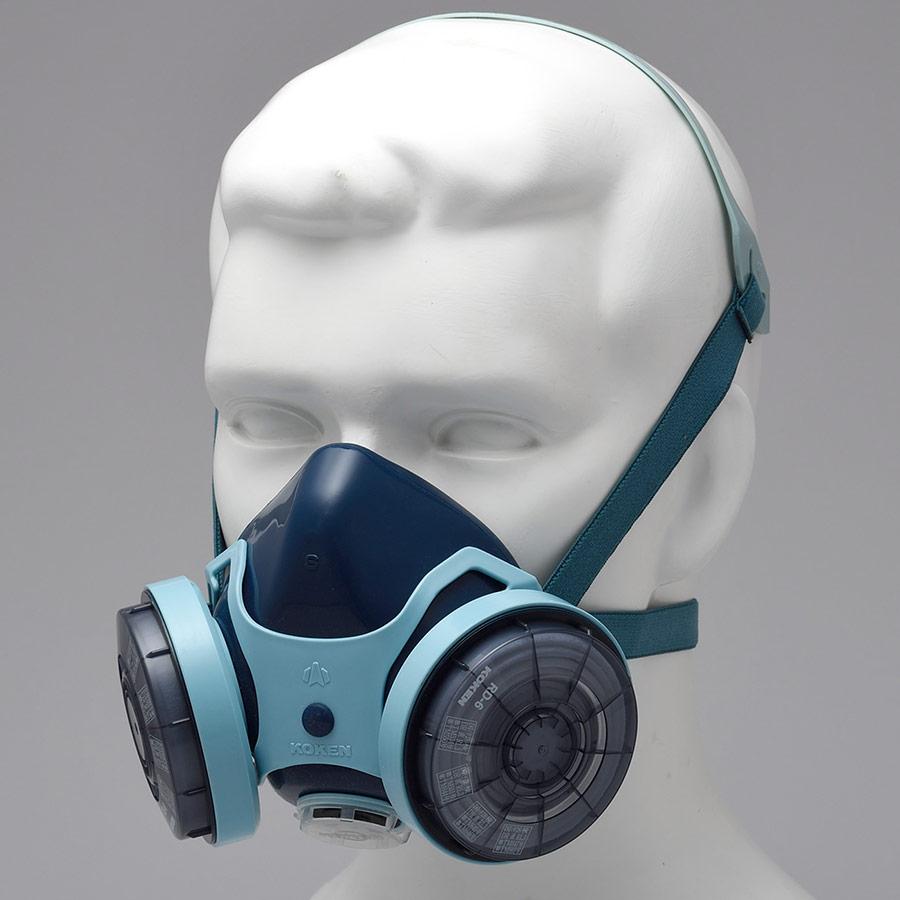 フィルタ取替式防じんマスク 7121R