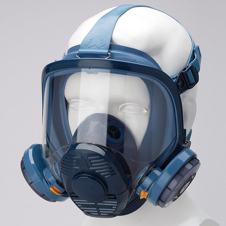 フィルター取替式 防じんマスク 1521U ナノマテリアル作業向け 伝声器付