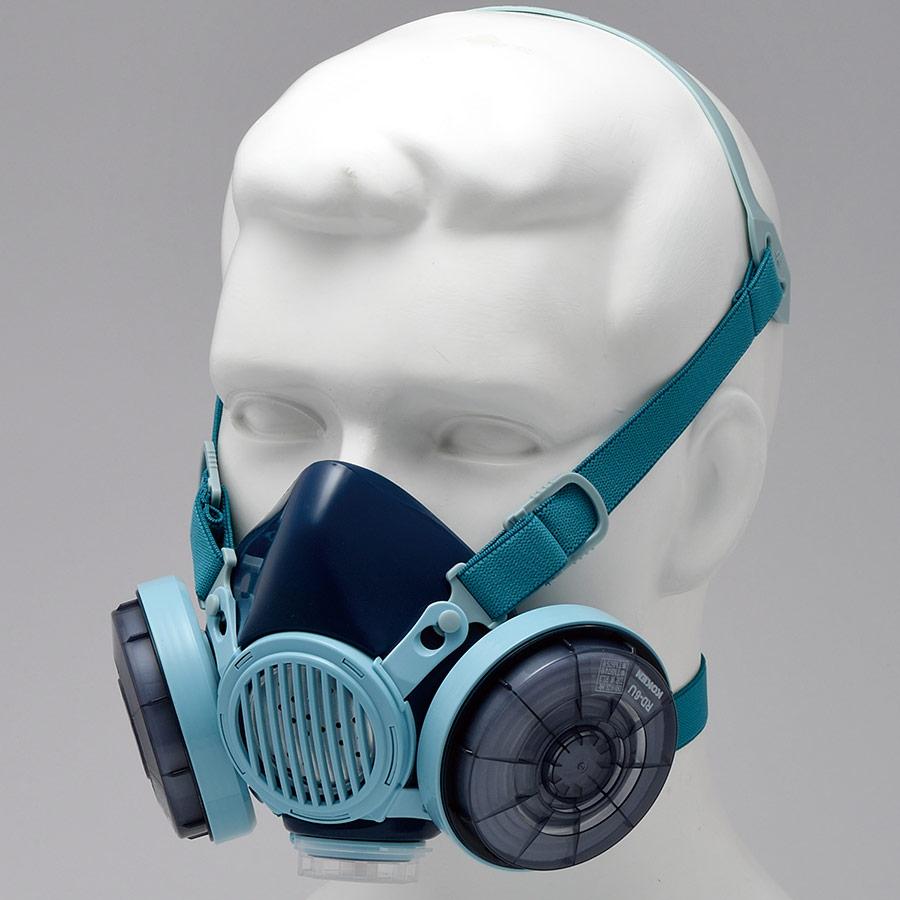 フィルター取替式 防じんマスク 7191DKU (RL3) (ナノマテリアル用)