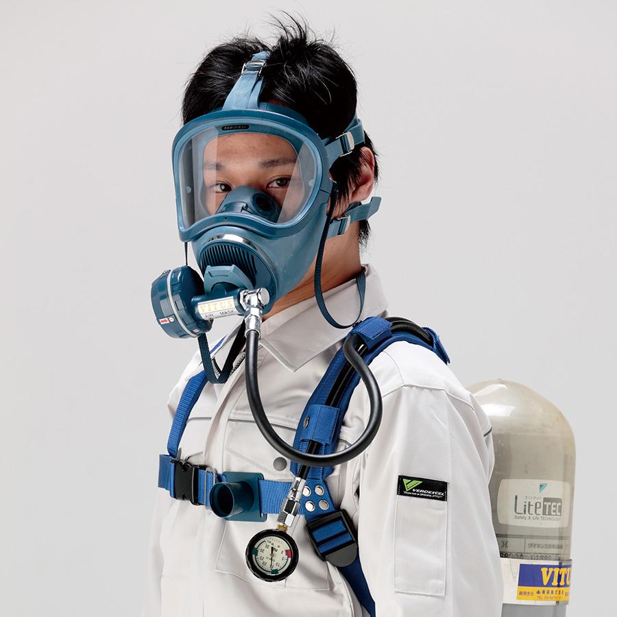 バイタス空気呼吸器 バイタス3−P ケース式 (ボンベ別売り)