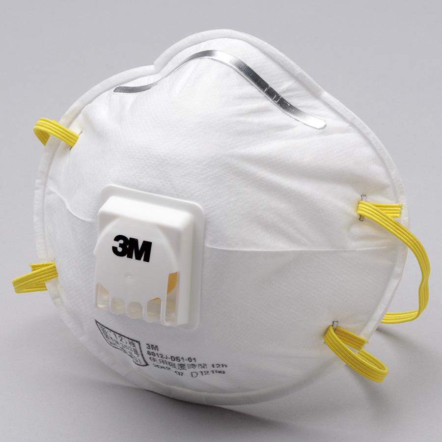 使い捨て式 防じんマスク 8812J−DS1 10枚入