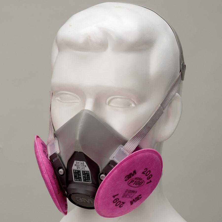フィルター取替式 防じんマスク 6000/2091−RL3 L (ラージ)