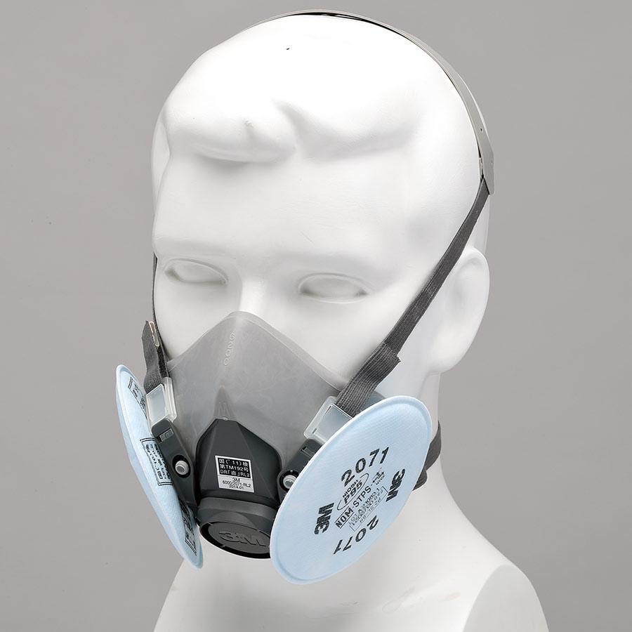 フィルター取替式 防じんマスク 6000/2071−RL2 M (ミディアム)