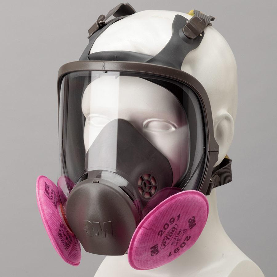 フィルター取替式 防じんマスク 6000F/2091−RL3 M (ミディアム)