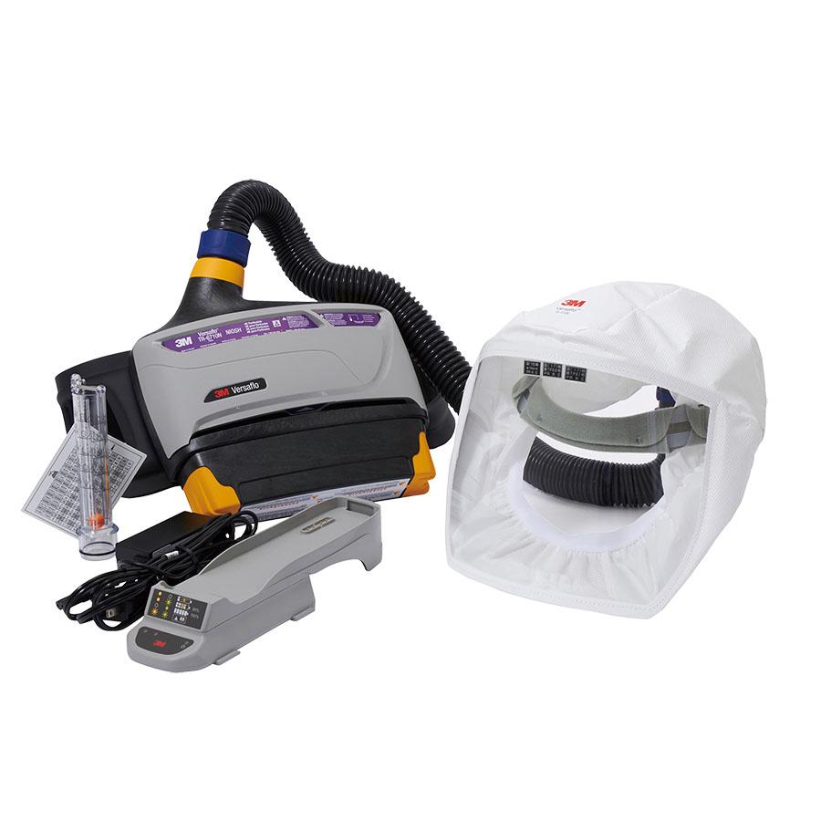 電動ファン付き呼吸用保護具 バーサーフロー(TM) TR−800−133J