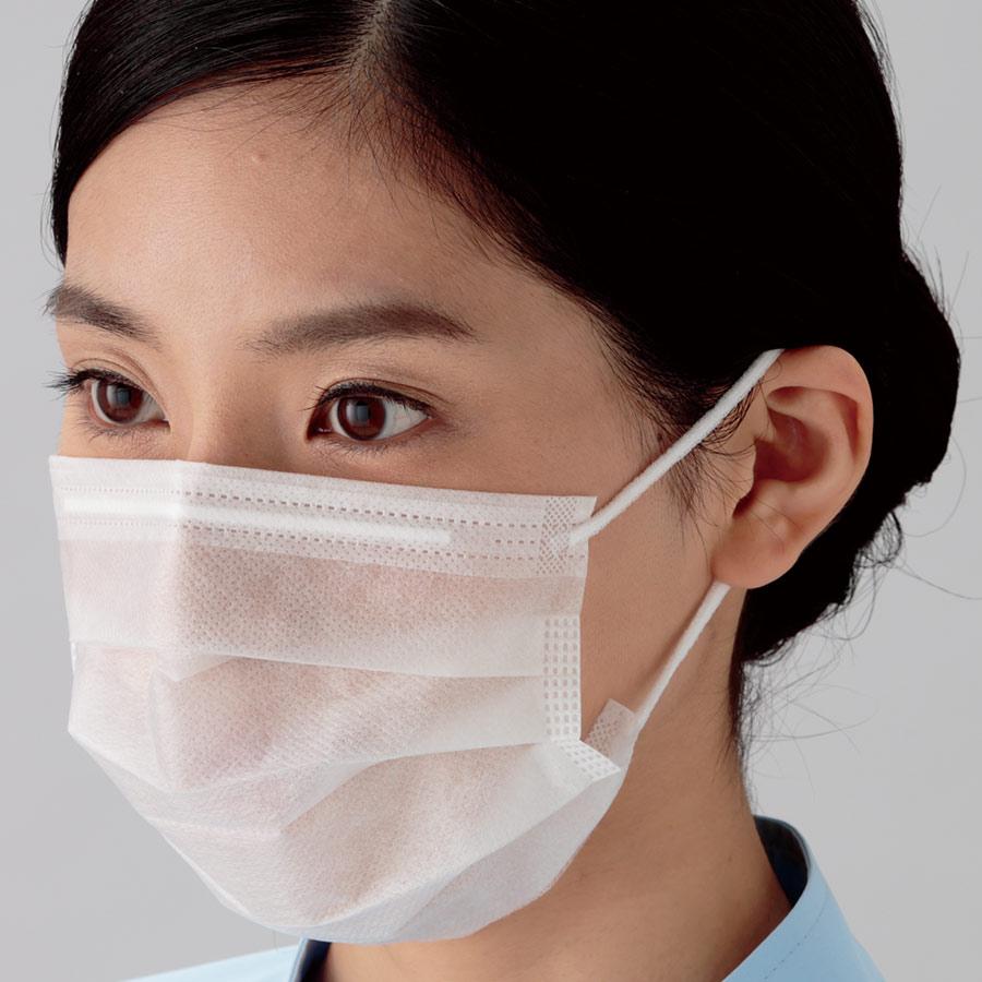 ミドリクリーンマスク (2枚重ね) K−200R 耳掛け 3000枚