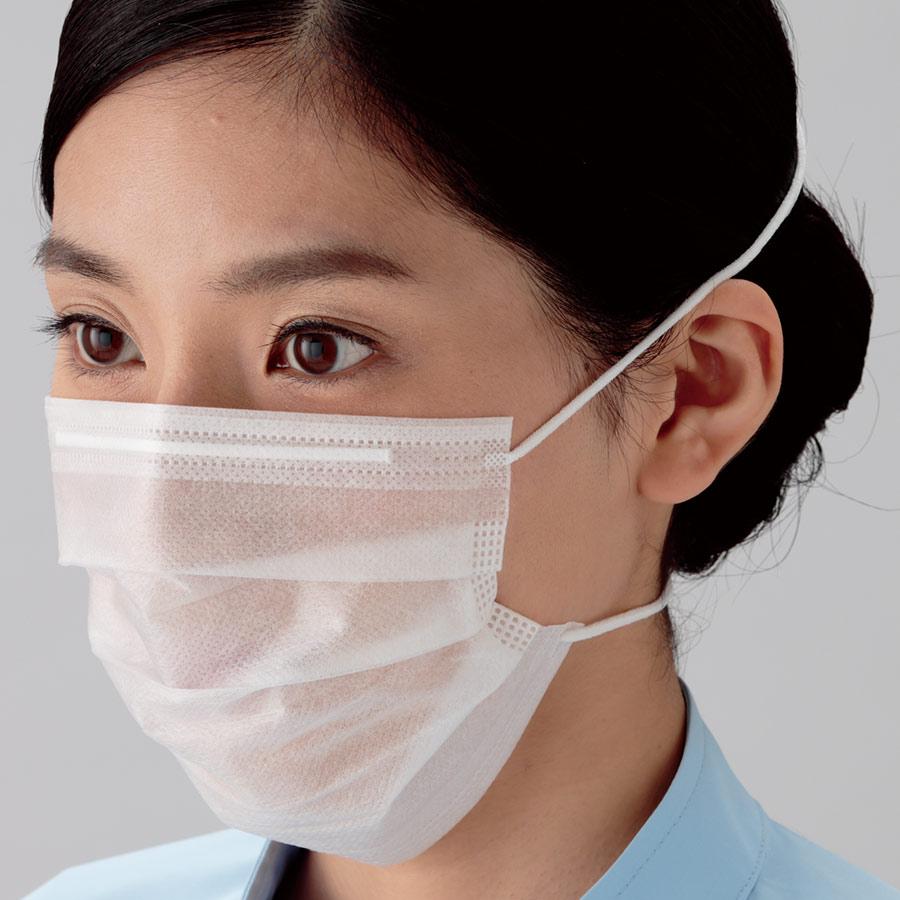 ミドリクリーンマスク (2枚重ね) K−210R オーバーヘッド 3000枚