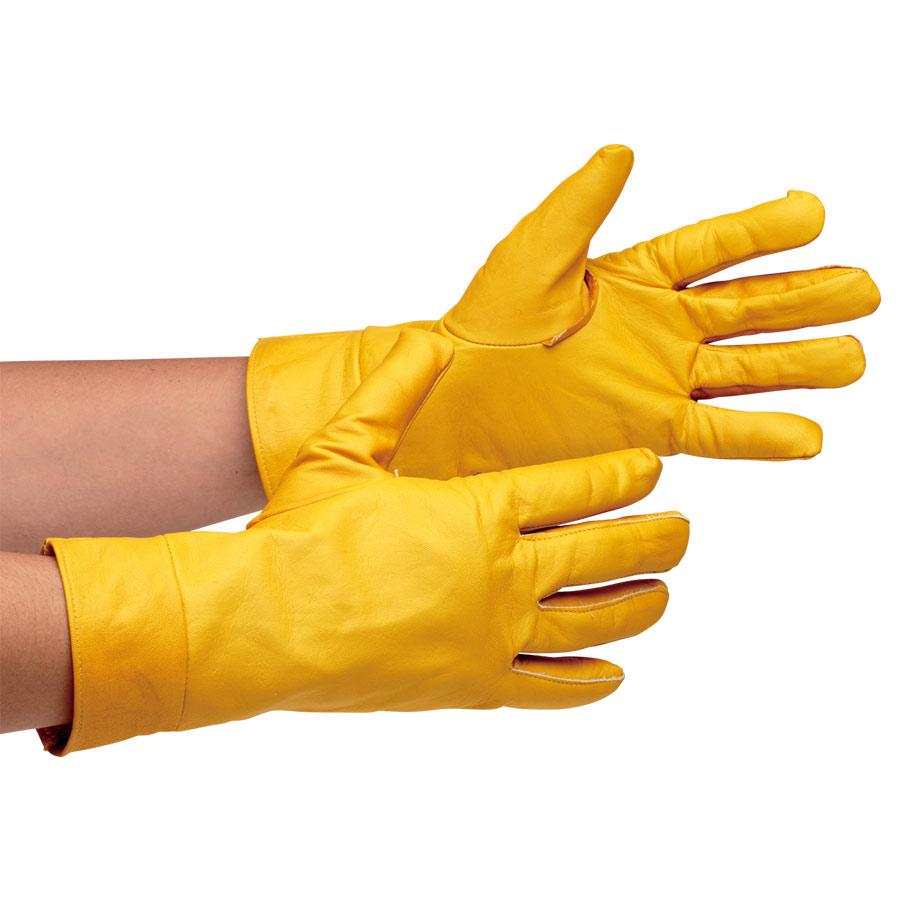 革手袋 MT−14 キリン型 黄
