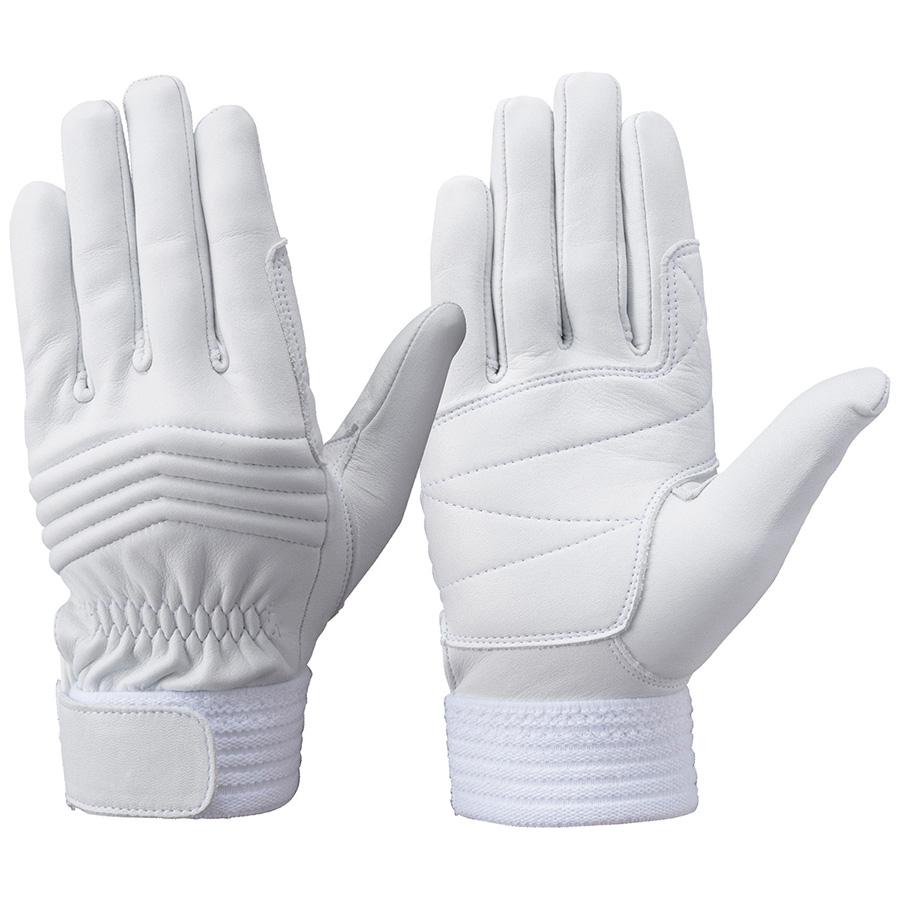 トンボレックス 牛革手袋 C−33W 中厚タイプ ホワイト LL