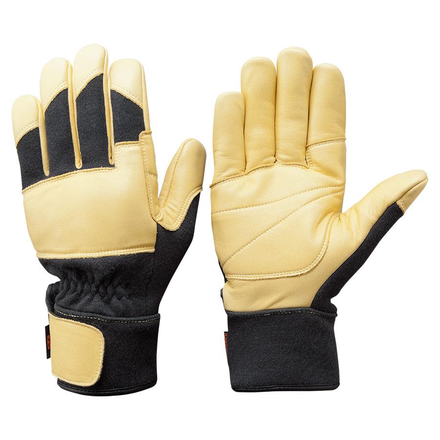 トンボレックス ケブラー(R)繊維製防火手袋 K−G201BK L