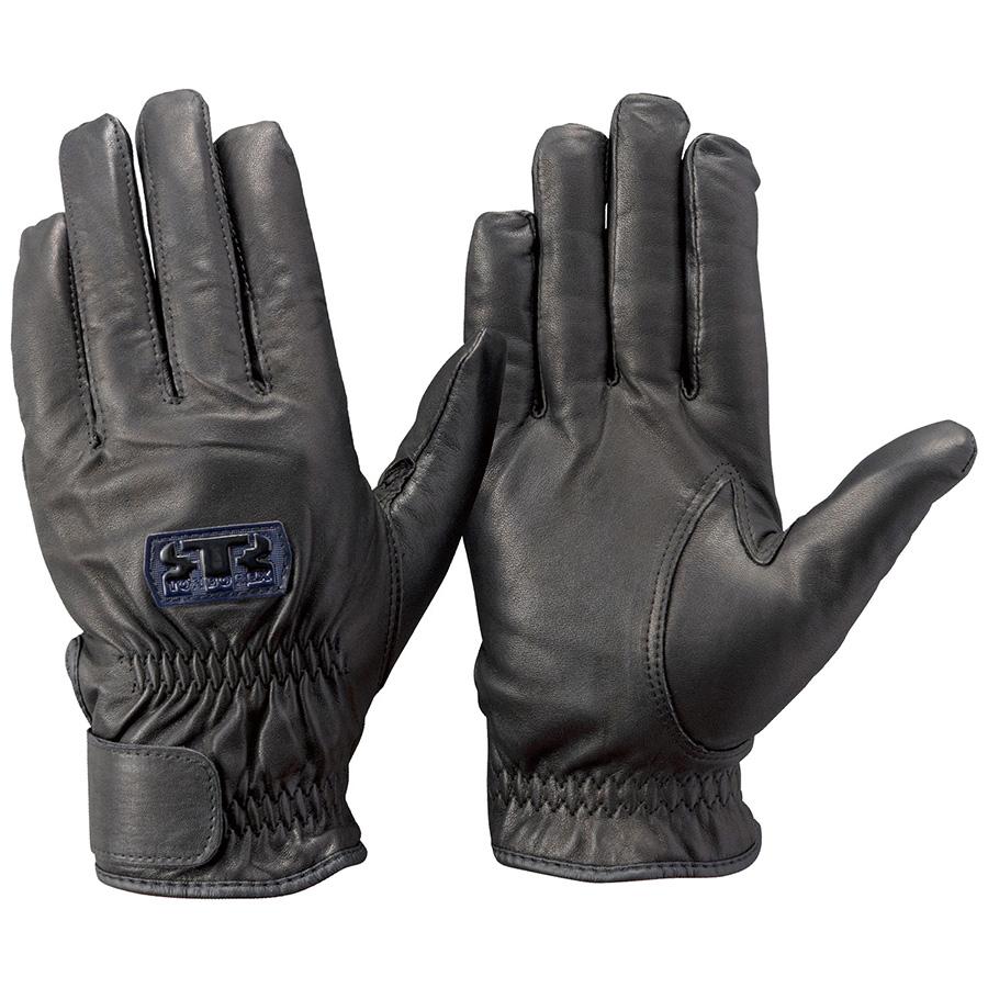 トンボレックス 牛革手袋 CSB−251BK 防寒・薄手タイプ ブラック L