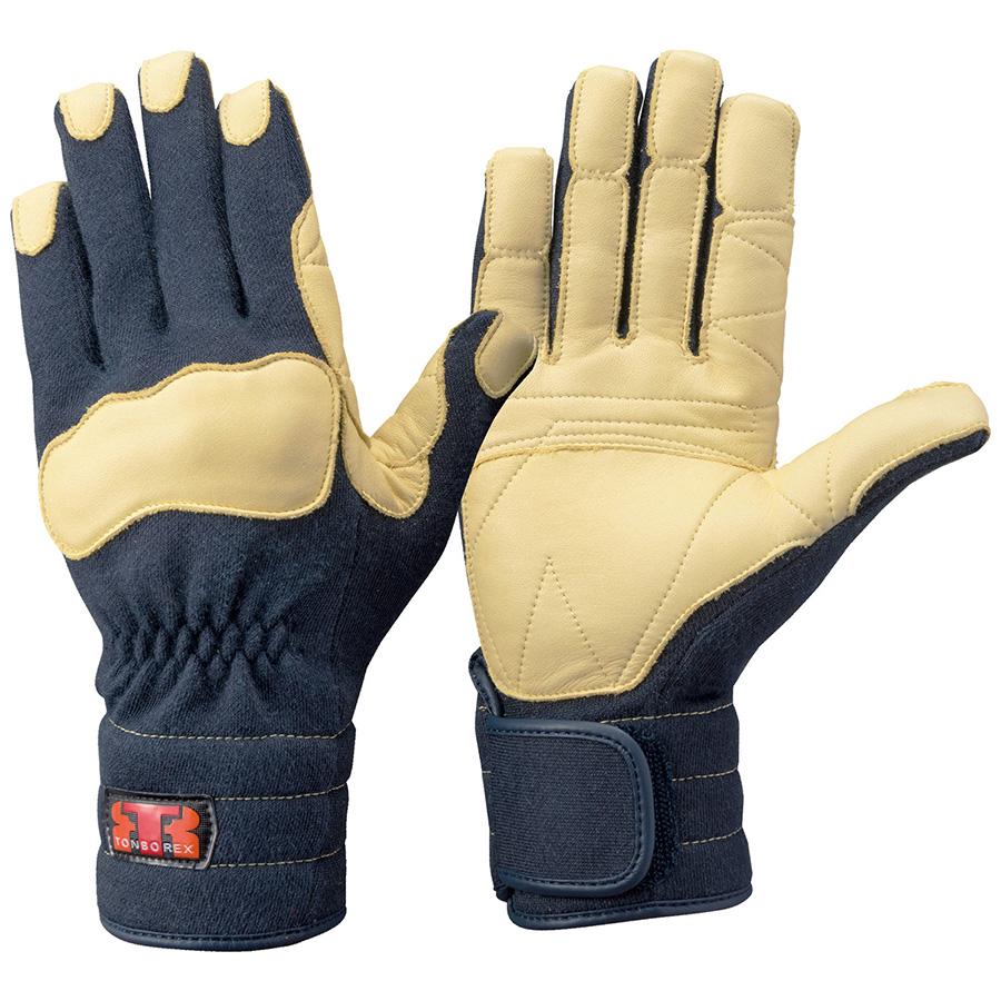 トンボレックス ケブラー(R)繊維製手袋 K−144NV ネービー L