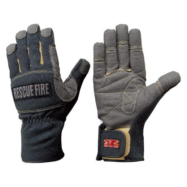 トンボレックス ケブラー(R)繊維製手袋 防寒防水タイプ K−152BK L