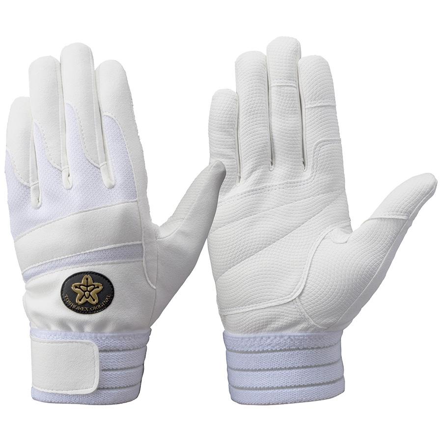 トンボレックス 合成皮革手袋  E−843WD 白 L