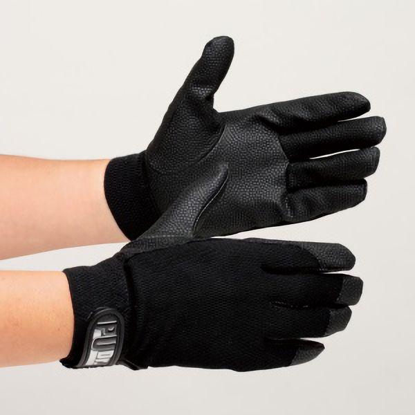 合成皮革手袋 ソフトタイプ PUドクター ブラック L 10双入