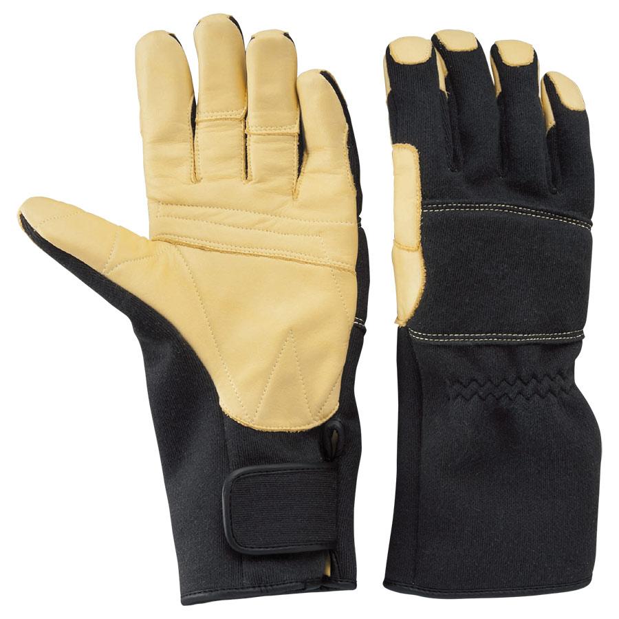 トンボレックス ケブラー(R)繊維製防火手袋 防水タイプ K−TFG8BK S