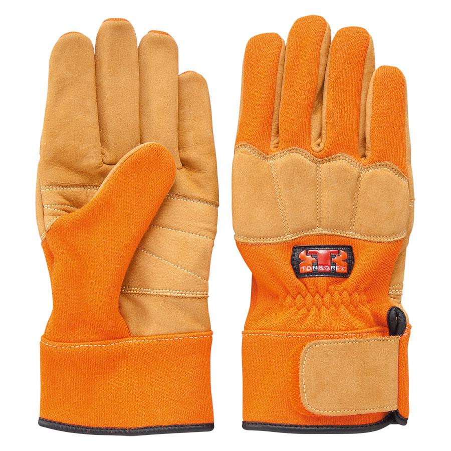 トンボレックス ケブラー(R)繊維製防火手袋 K−G101R M